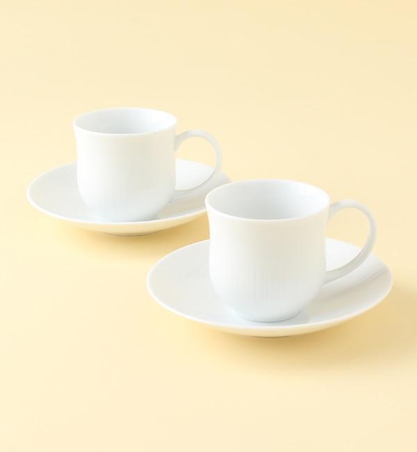 【ミヤマショッキテン/深山食器店(KOKO LUMINE)】 fucube Pair cup & soucer [送料無料]