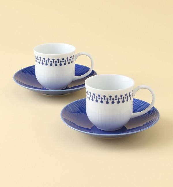 【ミヤマショッキテン/深山食器店】 fucube Pair cup & soucer 1000fucus