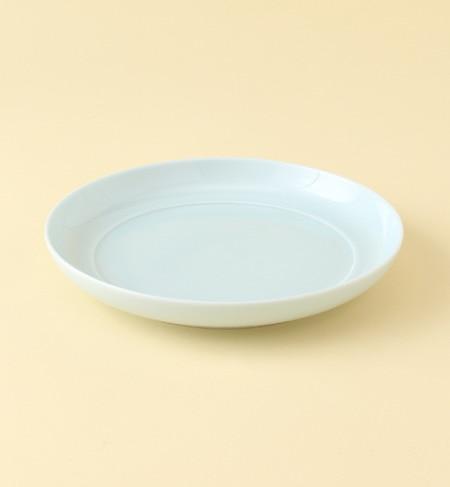 <アイルミネ> 瑞々(mizu-mizu) まる皿 7寸 [3000円(税込)以上で送料無料]