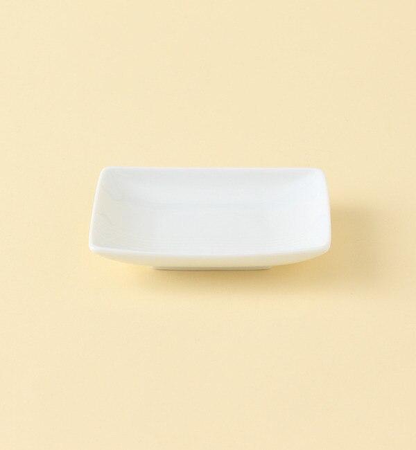 【ミヤマショッキテン/深山食器店(KOKO LUMINE)】 水引 豆皿 白 [3000円(税込)以上で送料無料]